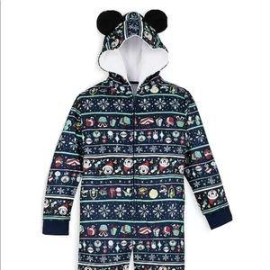 Disney Parks 2020 Mickey Holiday Pajamas Youth
